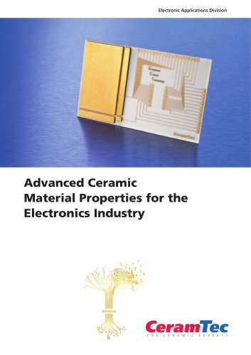 Advanced Ceramic Material Properties for the Electronics Industry