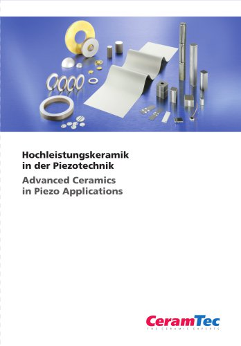 Advanced Ceramics in Piezo Applications