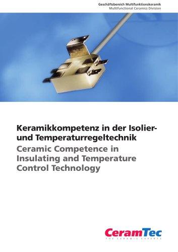 Ceramic Competence in Insulating and Temperature Control Technology