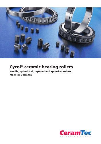 Cyrol® ceramic bearing rollers