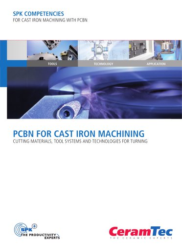 PcBn for cast iron Machining