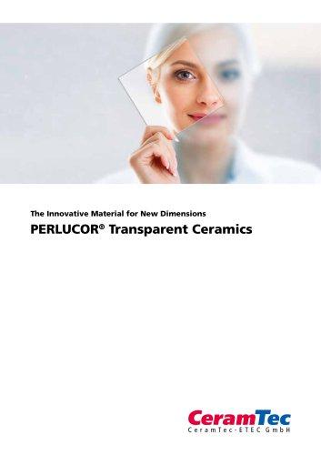 PERLUCOR® Transparent Ceramics
