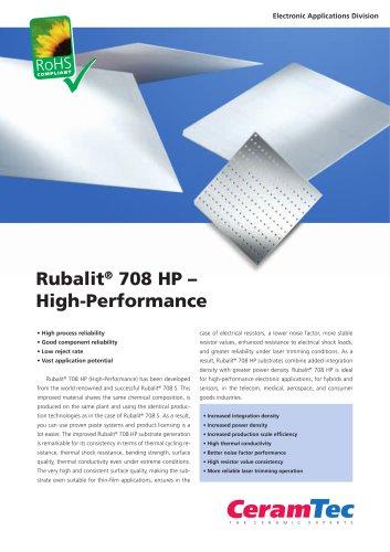 Rubalit® 708 HP ? High-Performance