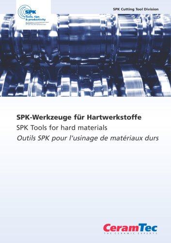 SPK Tools for hard materials