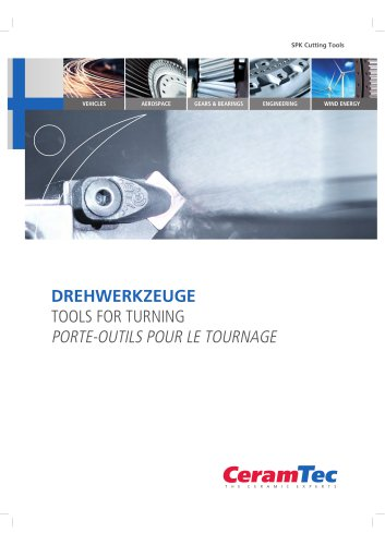 TOOLS FOR TURNING