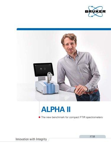 ALPHA II- FTIR Spectrometer
