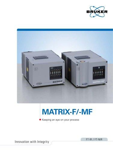 MATRIX-F/-MF Process Spectrometers