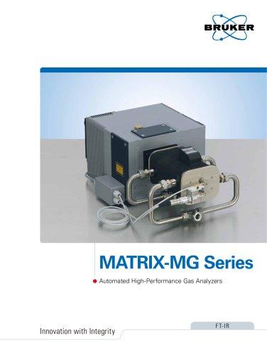 MATRIX-MG Series: FTIR gas analyzers