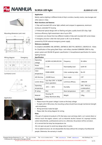 SL301A LED light