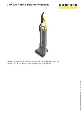 CVU 30/1 HEPA single-motor upright