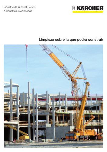 Industria de la construcción folleto