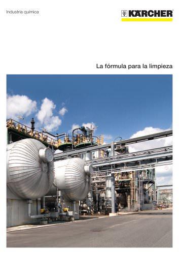 Industria química folleto