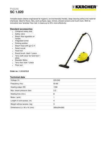 SC 1.020 Steam cleaner