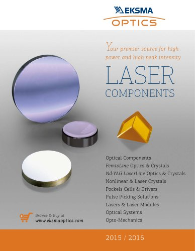 Laser Components Catalogue with EUR pricing