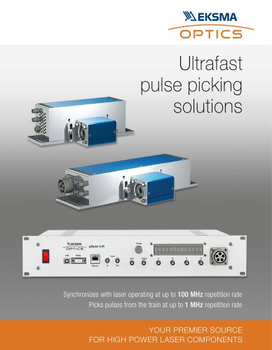 Ultrafast Pulse Picking Solutions by EKSMA Optics