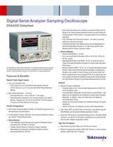 Digital Serial Analyzer Sampling Oscilloscope DSA8300