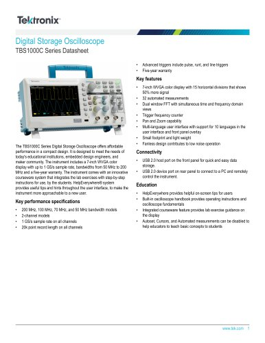TBS1000C