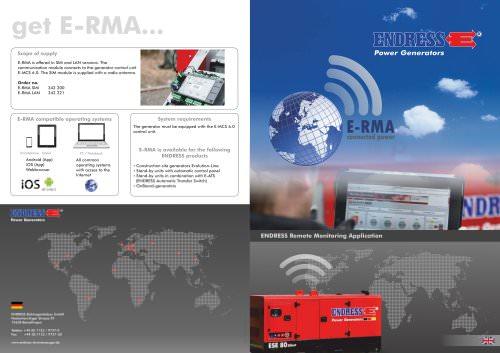 ENDRESS Remote Monitoring Applicatio