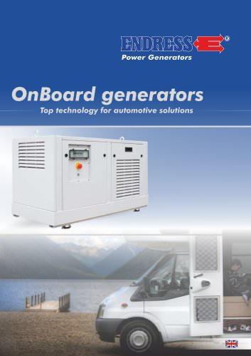 OnBoard generators for vehicle