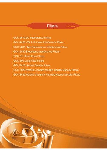 Daheng New Epoch Technology,Inc.-Filters