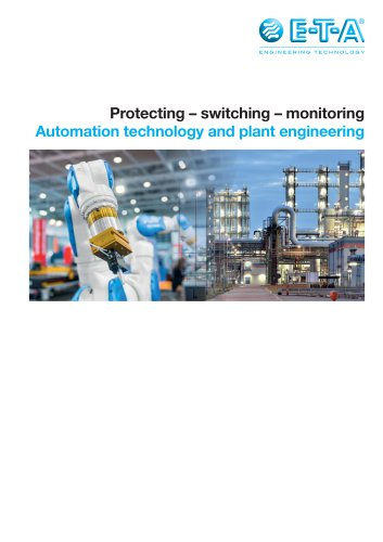 Automation technology and plant engineering