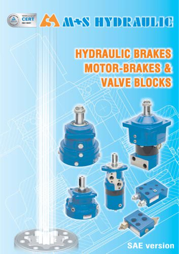 hydraulic brakes motors-brakes valve blocks