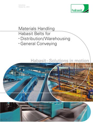 Belts for distribution and warehousing (2012)