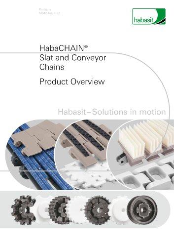 HabaCHAIN® Slat and Conveyor Chains