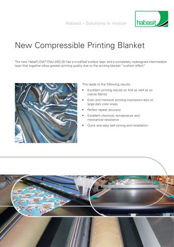 Habasit Compressible Printing Blankets (4268)