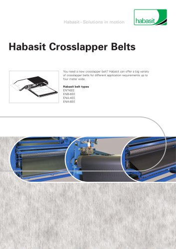 Habasit Crosslapper Belts