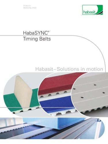 Habasit HabaSYNC Timing Belts (4107)