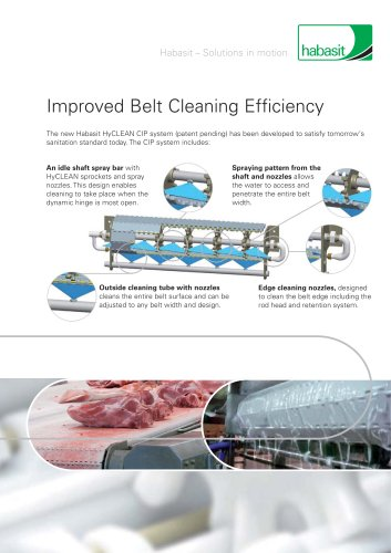 Habasit Improved Belt Cleaning Efficiency (4269)