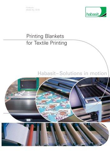 Habasit Printing Blankets (4278)