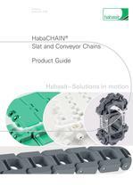 Habasit Slat and Conveyor Chains (4185)