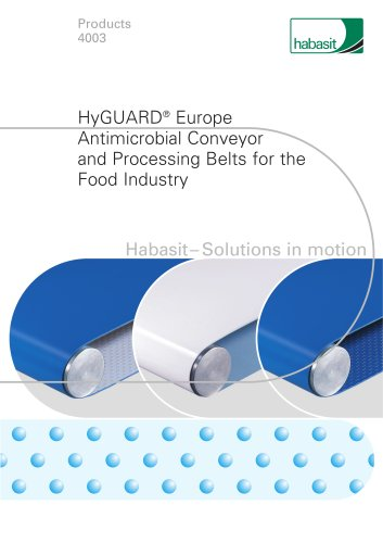 HyGUARD products for food industry (4003