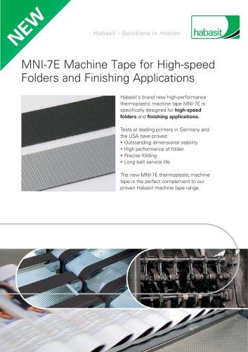MNI-7E Machine Tape