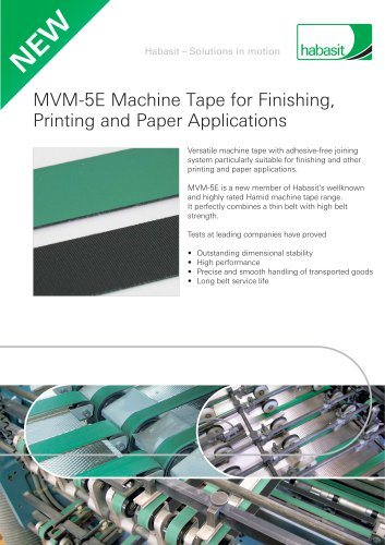 MVM-5E Machine Tape