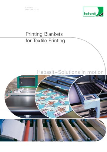 Printing Blankets for Textile Printing