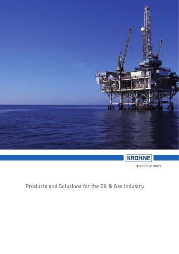 Brochure Oil & Gas Industry
