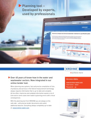 Brochure Wastewater Planningtool