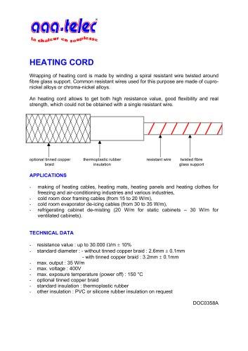 Heating Cord