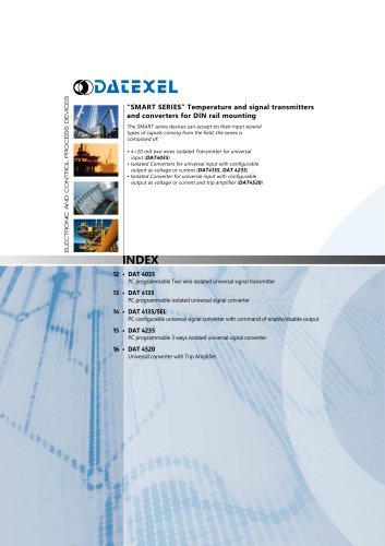 Datexel CATALOGO SMART SERIES_ING
