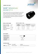 GASIR® Infrared Lens 6.8 mm f/1.3