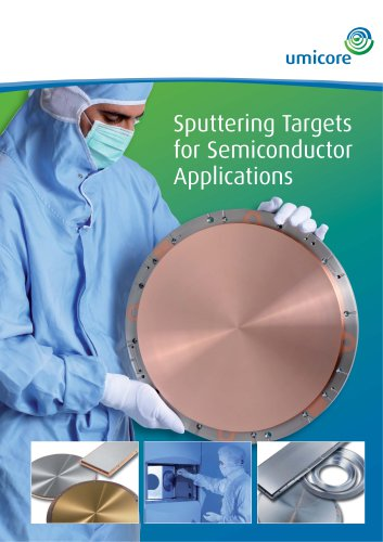 Sputtering targets for semiconductor applications