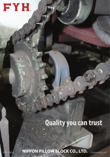 Quality you can trust Flyer