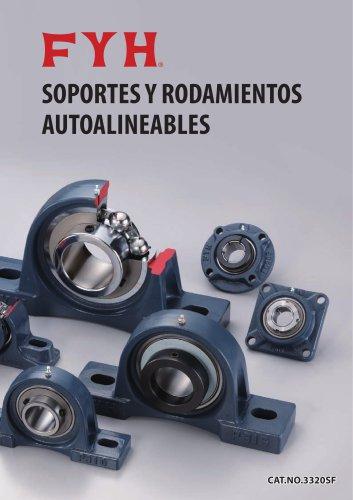 SOPORTES Y RODAMIENTOS AUTOALINEABLES
