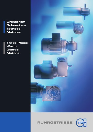 Three Phase Worm Geared Motors