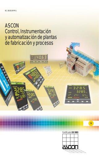 ASCON Control, Instrumentacion y automatizacion de plantas de fabricacion y procesos