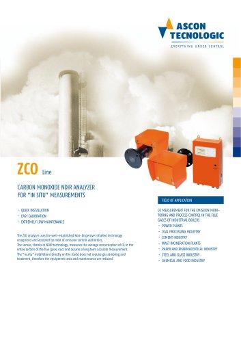 Carbon monoxide NDIR analyzer - ZCO