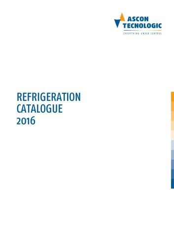 Refrigeration catalogue 2016